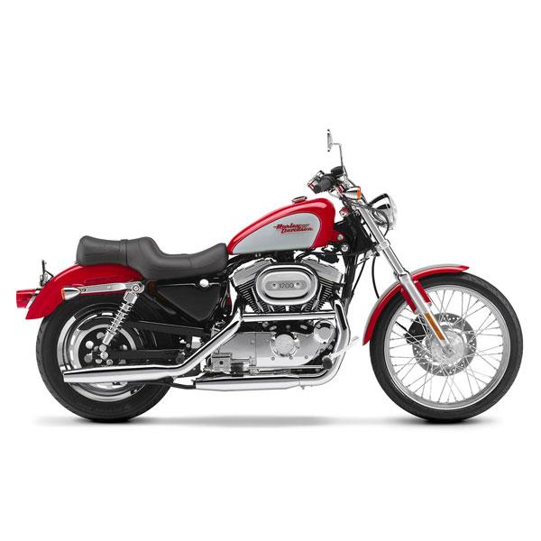 Harley Davidson 883 Sportster Motorcycle Rental in Waikiki